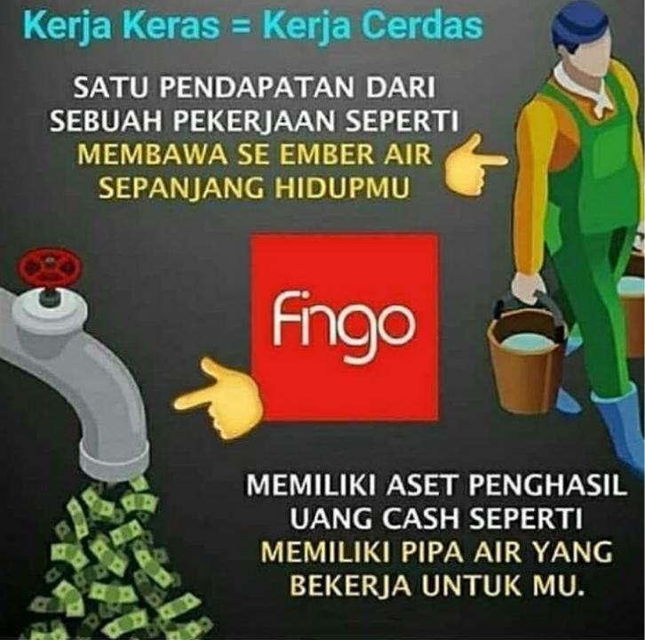 Join Fingo Indonesia Sekarang, Gratis Website Promosi, di didik Mentor Profesional
