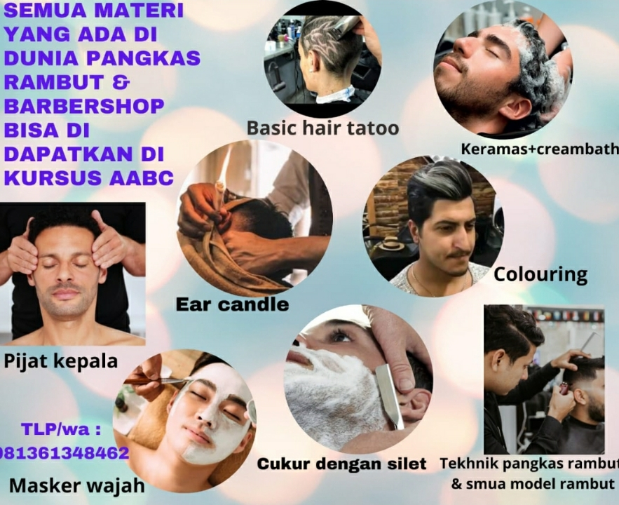 Kursus Barbershop Medan - AA Alif Barber Course