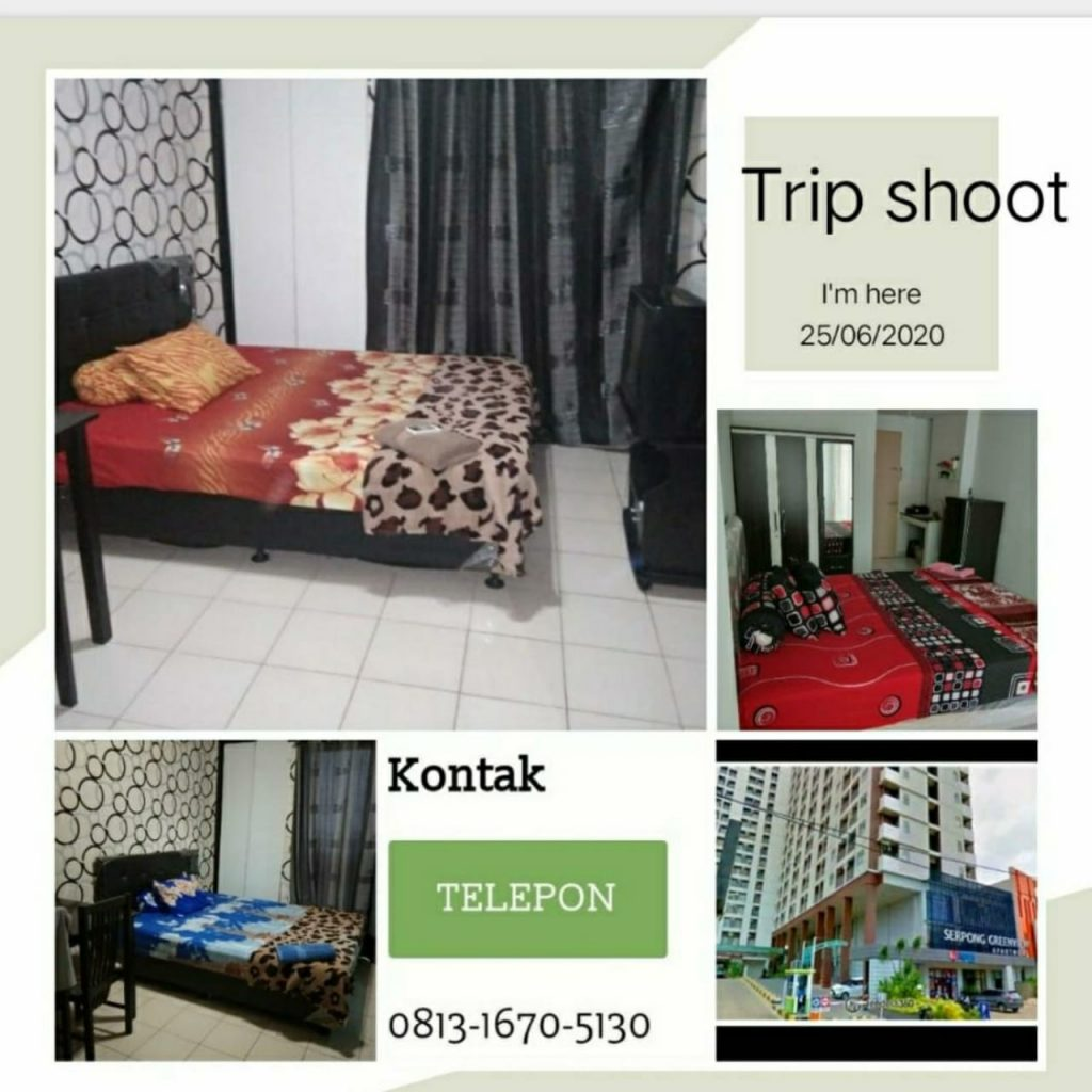 Sewa Apartemen Harian by Dinda