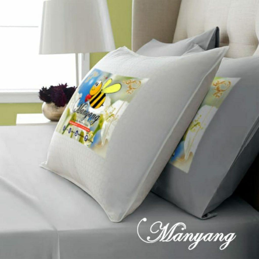 Bantal Manyang Silikon Super lembut, Nyaman dan Empuk Serasa Tidur di Hotel