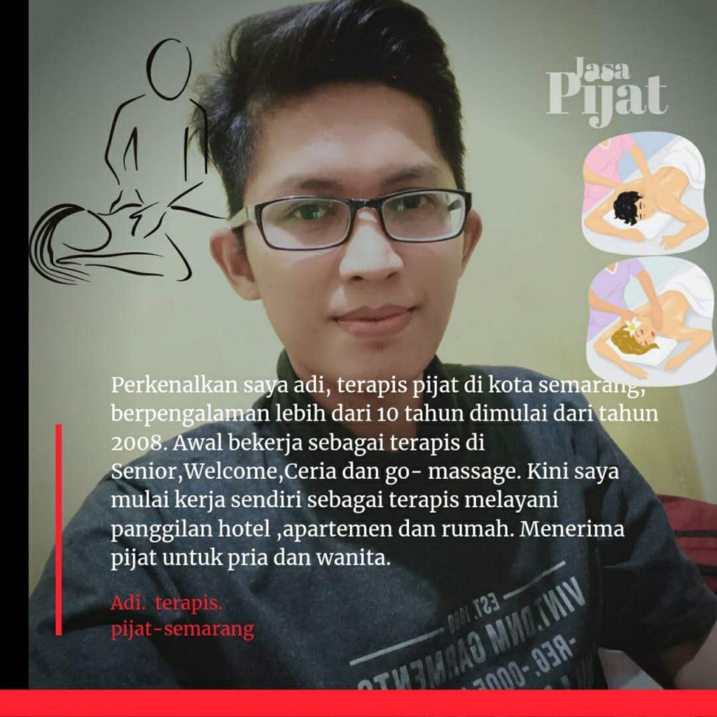 Jasa Pijat Panggilan Semarang