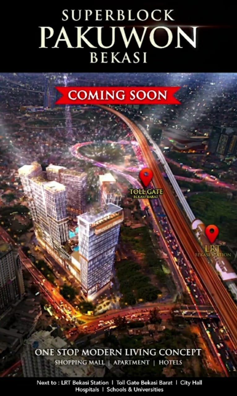 Apartemen Mewah Pakuwon Residence Bekasi