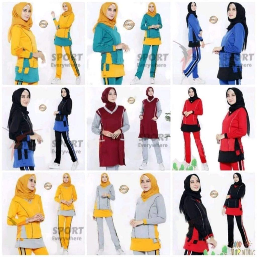 Pakaian Olahraga Wanita, Setelan Senam Wanita